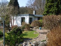 Haus Waldblick im Vor-Frühling