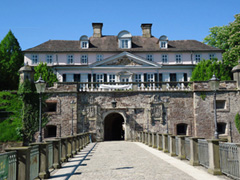 Blick auf das Pyrmonter Schloss