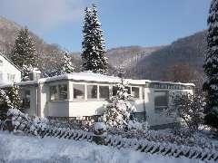 Haus Waldblick im Winter